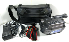 Jvc VHS-C Compact Vhs GR-AXM70U Video Camcorder w/ Battery, Charger - For Parts - $24.70