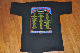 VTG 90s Music Midtown Atlanta 1999 T shirt Outkast Iggy Pop Wilco Widespread  L - $34.99