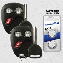 2 For 2004 2005 2006 2007 Buick Rainier Keyless Entry Car Remote Fob + Key - $18.76