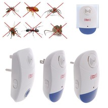Mosquito Repeller Pest Electronic Ultrasonic Bug Anti Insect X Rat Led C... - $12.99