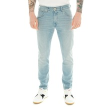 MEN'S JEANS WRANGLER LARSTON SLIM TAPERED W18S2327W  Denim - $60.76