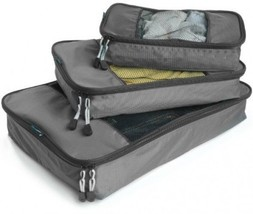 TravelWise Packing Cubes - 3 Piece Set (Silver) - $771,66 MXN