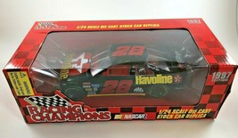 1997 NASCAR Die Cast Car Edition Ernie Irvan #28 Havoline Racing Champio... - $15.83