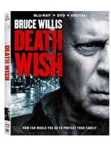 Death Wish [Blu-ray + DVD + Digital]