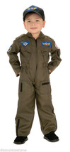 Young American Heroes Air Force Fighter Pilot Costume Boys Size Small 4-6 - $31.36