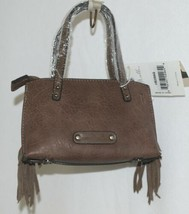 Simply Noelle HB209AG Brown Mommy and Me Collection Childs Fringe Small Purse image 1