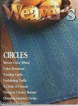 Weaver's magazine 27: ~ CIRCLES ~ Issue 27, Spring 1995.  - $63.36