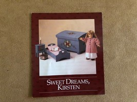 Sweet Dreams Kirsten Story pamphlet booklet Pleasant Company American Gi... - $16.50