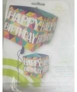 10 Square Happy Birthday balloons - NEW in Packages - $14.69