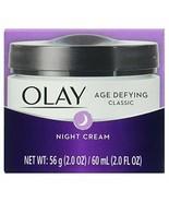 Olay Age Defying Night Cream Classic 2 Ounce Jar - $9.94
