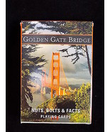 Golden Gate Bridge PLAYING CARD Deck Scenic photo conservancy cards - $9.49