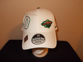 Minnesota Wild Reebok Center Ice Collection L/XL Fitted hat - £22.47 GBP