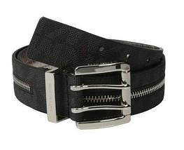 New Michael Kors Signature Belt Women Black Lea... - $24.99