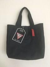 Guess USA Las Vegas Tourist Tote Bag Carry Women NWT NEW Denim Wash Blue Strap - $23.75