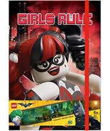 Lego Batman Movie Harley Quinn and Batgirl Hardcover Journal - $7.90