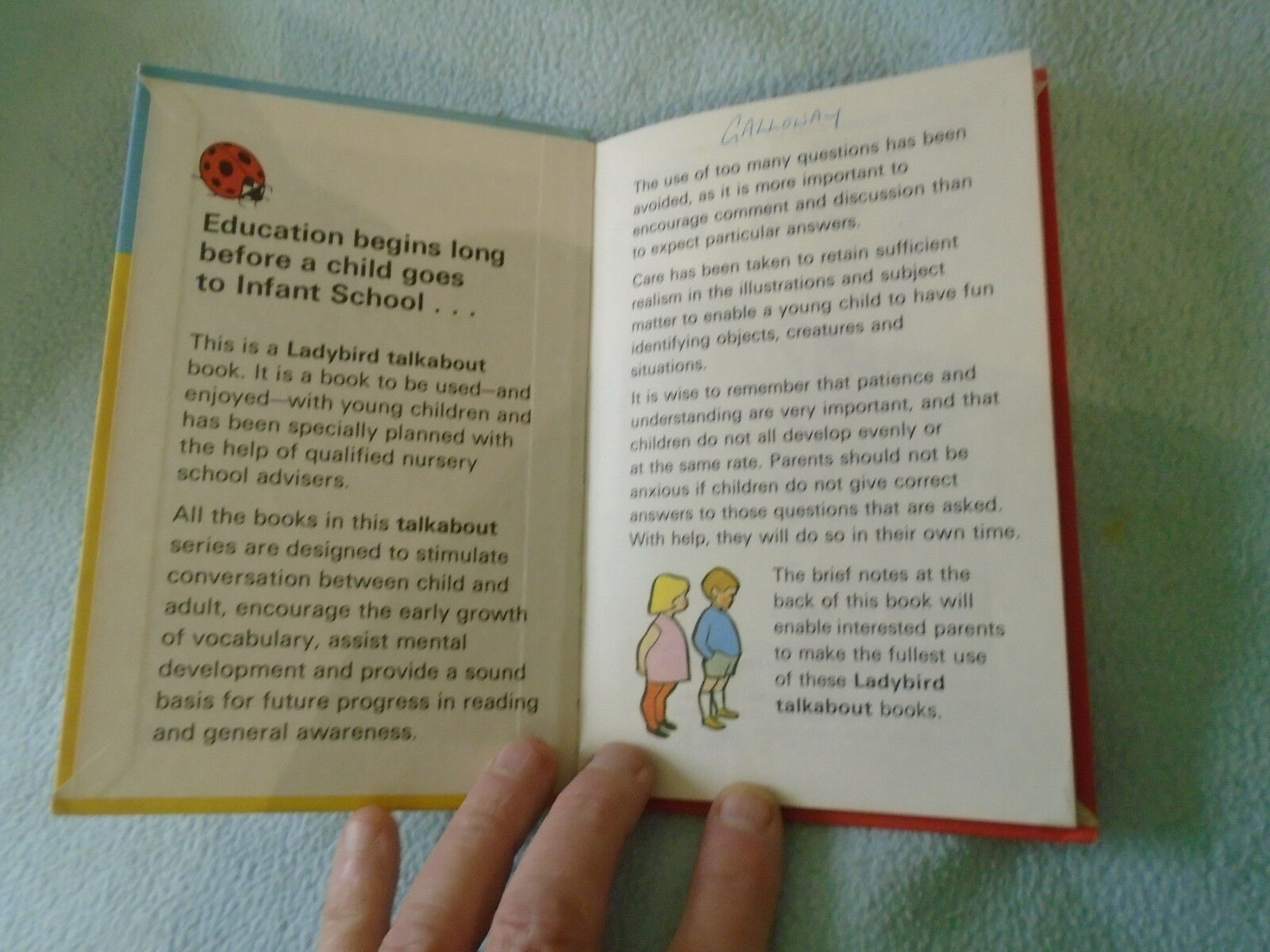 1973 Ladybird Book Talk About Animals Series 735