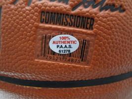 SHAQUILLE O'NEAL / NBA HALL OF FAME / AUTOGRAPHED FULL SIZE NBA BASKETBALL / COA image 5