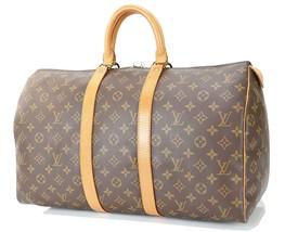 Authentic LOUIS VUITTON Keepall 45 Monogram Canvas Duffel Bag #32778A - $459.00