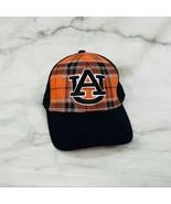 Auburn University Plaid Trucker Mesh Hat Cap Authentic Top Of The World ... - $13.81