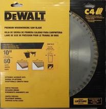 """DeWalt DW7632 10"""" x 60 Tooth Fine Cross Cut Thin Kerf Saw Blade USA - $49.50"""