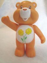 "CARE BEARS Orange Friend Bear Vintage 2003, 4"" Rattle - Playmates Toys - $8.49"