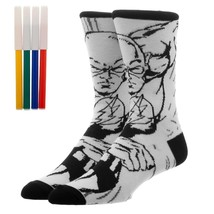 The Flash DC Comics Color Yourself Adult Crew Socks - $13.95