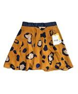 3.1 Phillip Lim Women's Leopard Print Circle ALine Skirt Orange Blue Siz... - $18.96