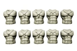 Spellcrow 28mm Wolf Space Knights Bits: Feral Guards / Scouts Torsos