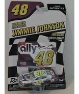 2020 JIMMIE JOHNSON #48 WHITE ALLY NASCAR AUTHENTICS 1:64 W/TEAM MAGNET ... - $9.85