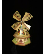 """Vintage Wood and Plastic Dutch Holland Windmill Collectible Souvenir 6"""" ... - $12.00"""