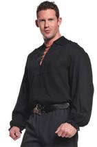 Pirate Shirt Adult Blk Xlarge  Costume - $23.51