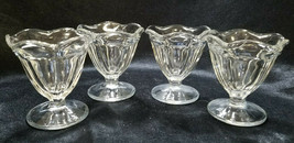 Anchor Hocking Clear Fountainware Low Sherbet Bowls, circa 2000s - $11.03