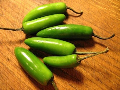 SHIPPED From US,PREMIUM SEED: 25 Particles of Serrano Pepper, Hand-Packaged
