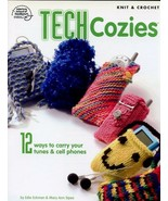Tech Cozies 12 Designs Cell Phone Covers Knit/Crochet PATTERN/Instructio... - $3.12