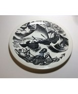 Wedgwood New England Industries Whaling Plate by Clare Leighton - $79.18