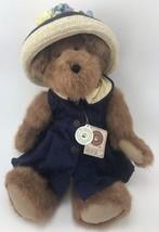 """Boyds Bear Maris Q. Yachtley Plush 16"""" tag 912018 2001 Navy Dress Origin... - $22.28"""