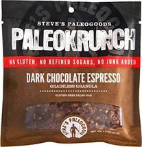 Steve's PaleoGoods, PaleoKrunch Paleo Bar Dark Chocolate Espresso, 1.5 oz Pack o