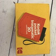 Vintage Kodak Pocket Instamatic 20 Camera Outfit With Box FREE SHIPPING - $18.69