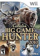 Cabela's Big Game Hunter 2010 (Nintendo Wii, 2009) - $10.23
