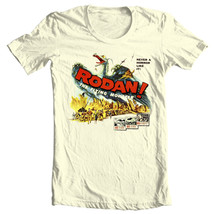 Rodan Flying Monster T-shirt vintage sci fi movie Godzilla film free shipping image 2