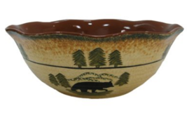 Cowgirl Kim Bear Serving Bowl Set - $180.00