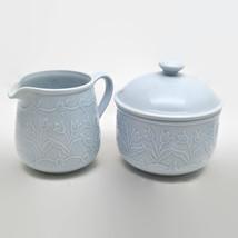 Block by Gear Lavender Whisper Pattern Sugar Bowl, Creamer, Salt & Peppe... - $57.42