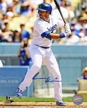 Andre Ethier Signed Los Angeles Dodgers Batting 8x10 Photo - $50.00