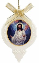 Thomas Blackshear Lord Jesus Ornament Universal Risen Christ Ebony Lenox... - $24.55