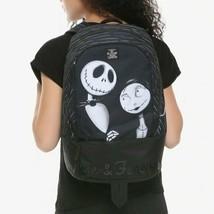 Disney The Nightmare Before Christmas Jack & Sally Backpack - $66.33