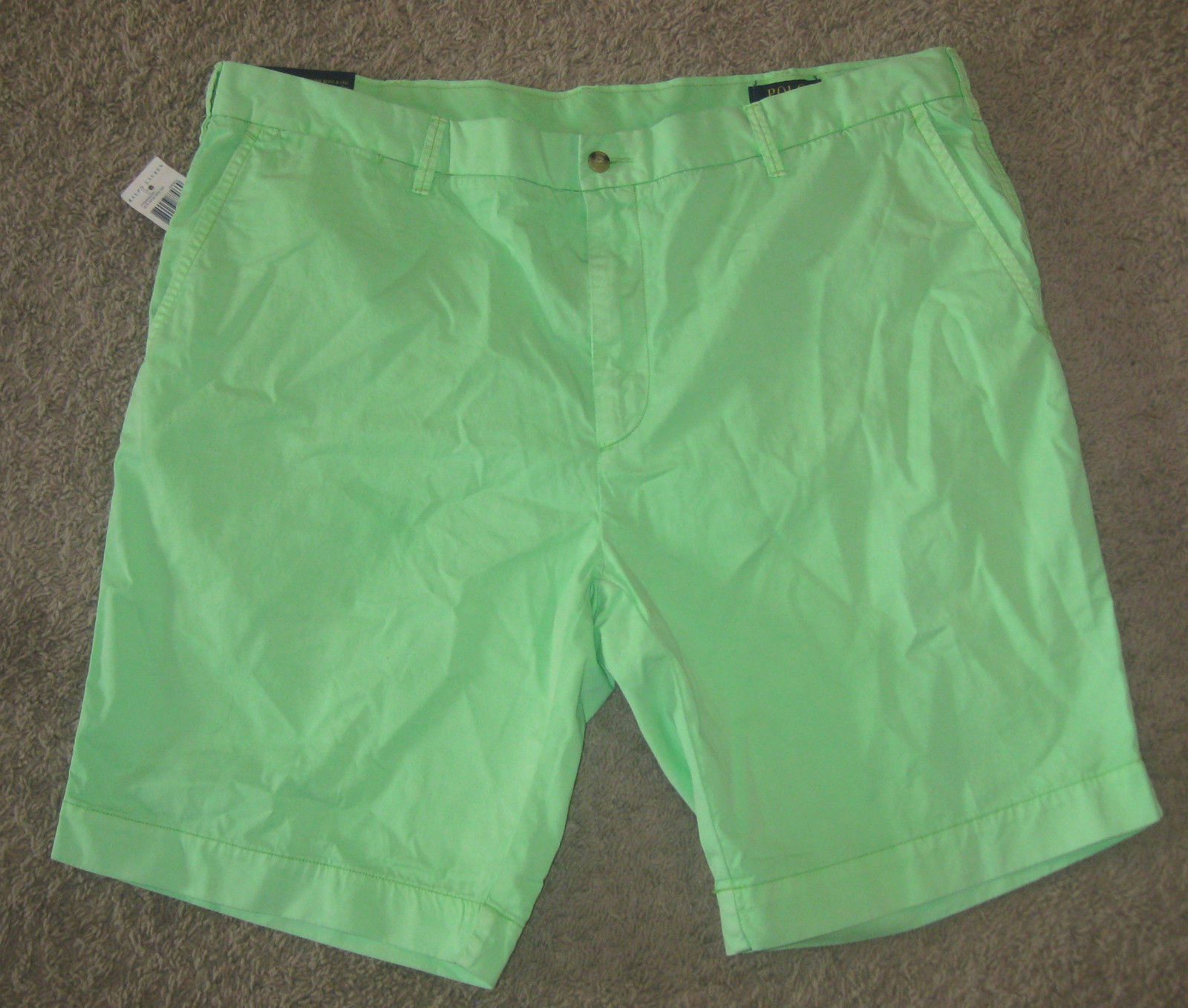 af6afd8c97 S l1600. S l1600. Previous. NEW POLO RALPH LAUREN MENS CLASSIC FIT WIND  GREEN SHORTS SIZE SZ 40 CHINO