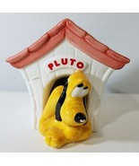 RARE CERAMIC PLUTO DISNEY DOG HOUSE CANDY JAR TELEFLORA GIFT FLOWERS FRO... - $47.97