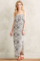 NWT ANTHROPOLOGIE FLIESE MAXI DRESS by VANESSA VIRGINIA 4 - $62.99