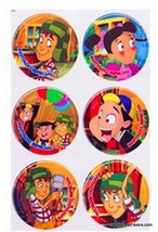 Chavo del Ocho Birthday Decoration Party Supplies Favor Birthday Sticker Decals - $6.88