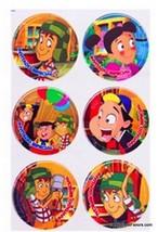 Chavo del Ocho Birthday Decoration Party Supplies Favor Birthday Sticker... - $6.88